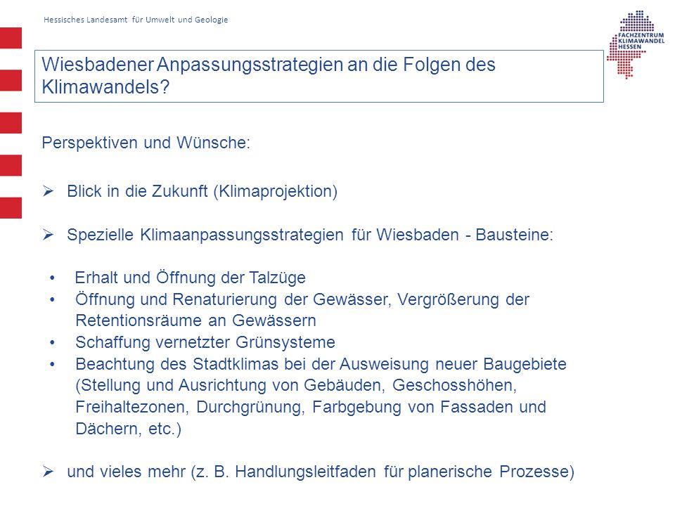 Wiesbadener Anpassungsstrategien an die Folgen des Klimawandels