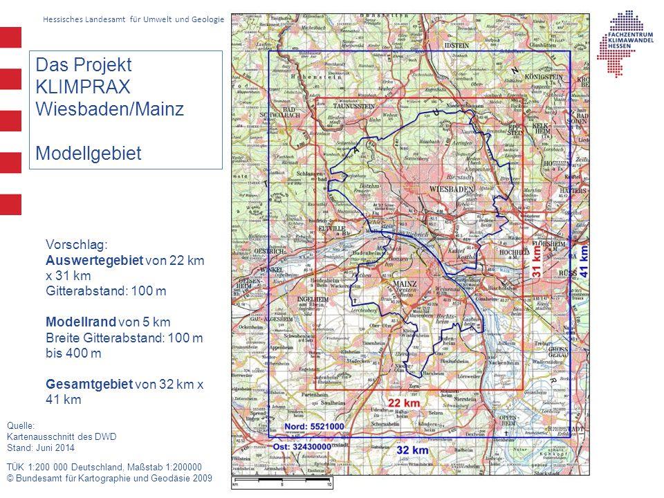 Das Projekt KLIMPRAX Wiesbaden/Mainz