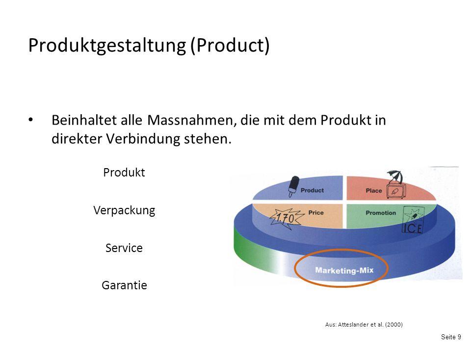 Produktgestaltung (Product)