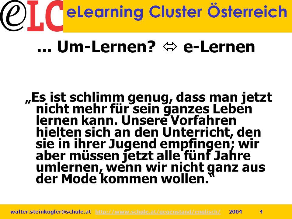 ... Um-Lernen  e-Lernen