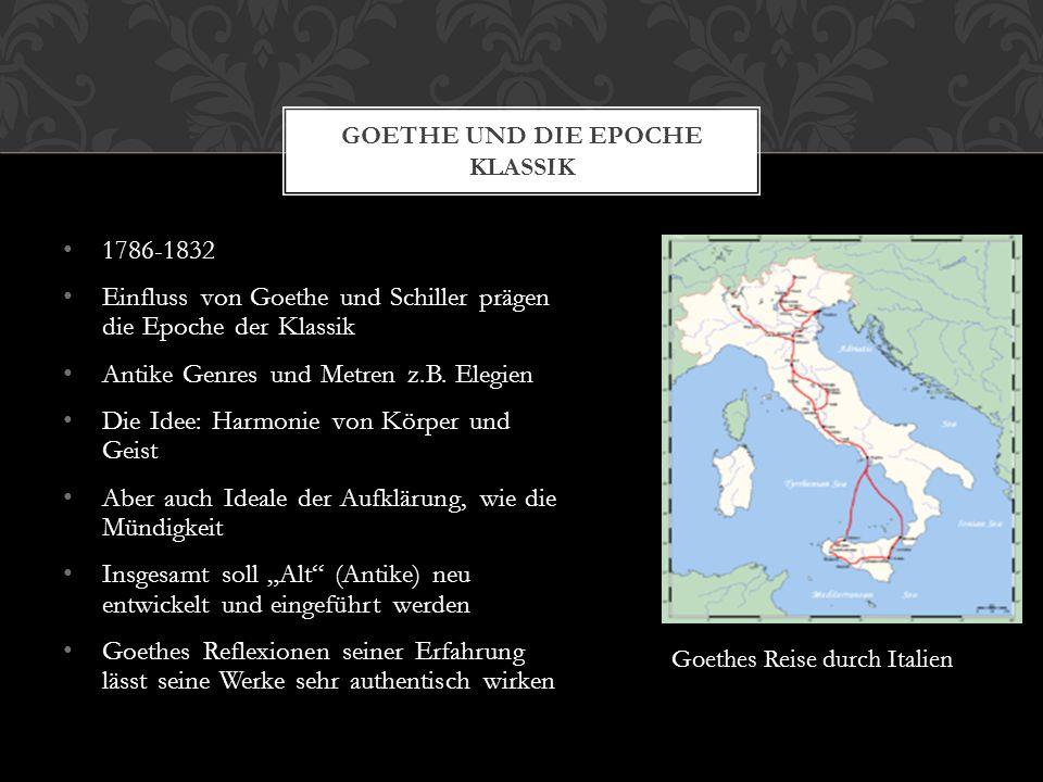 Goethe und die Epoche Klassik