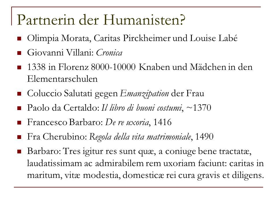 Partnerin der Humanisten