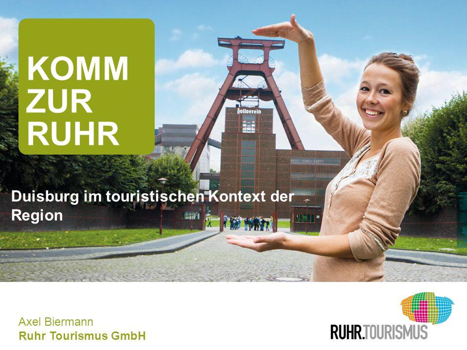 KOMM ZUR RUHR Duisburg im touristischen Kontext der Region