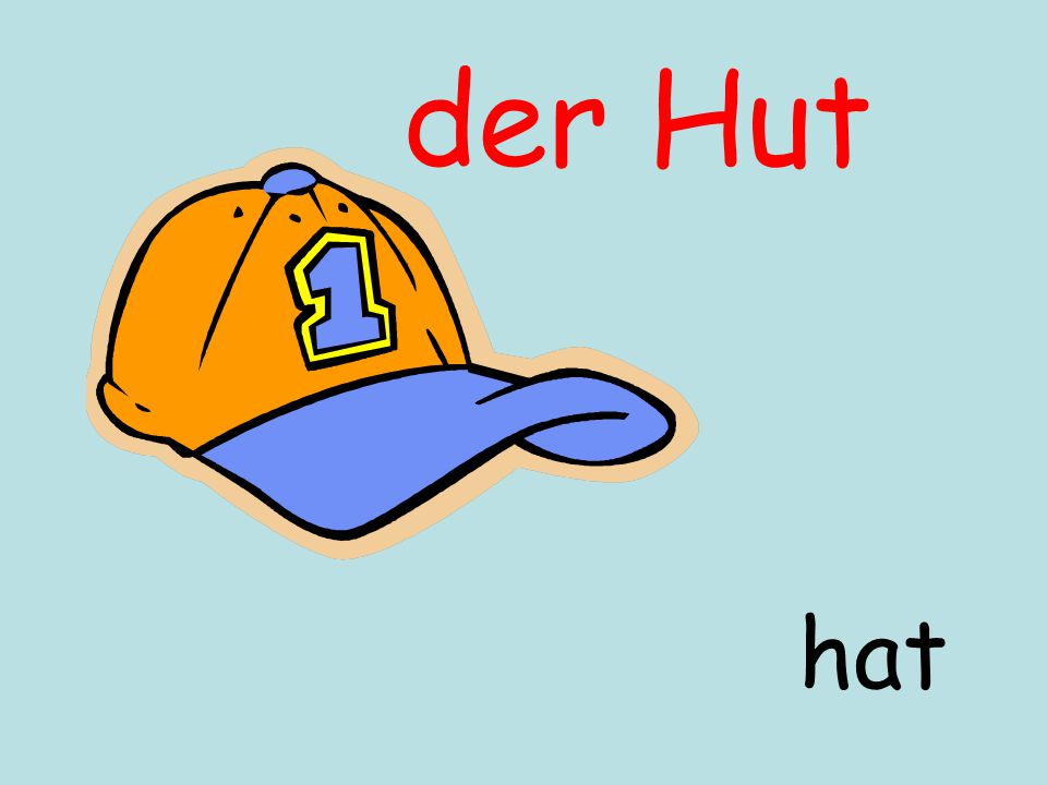 der Hut hat