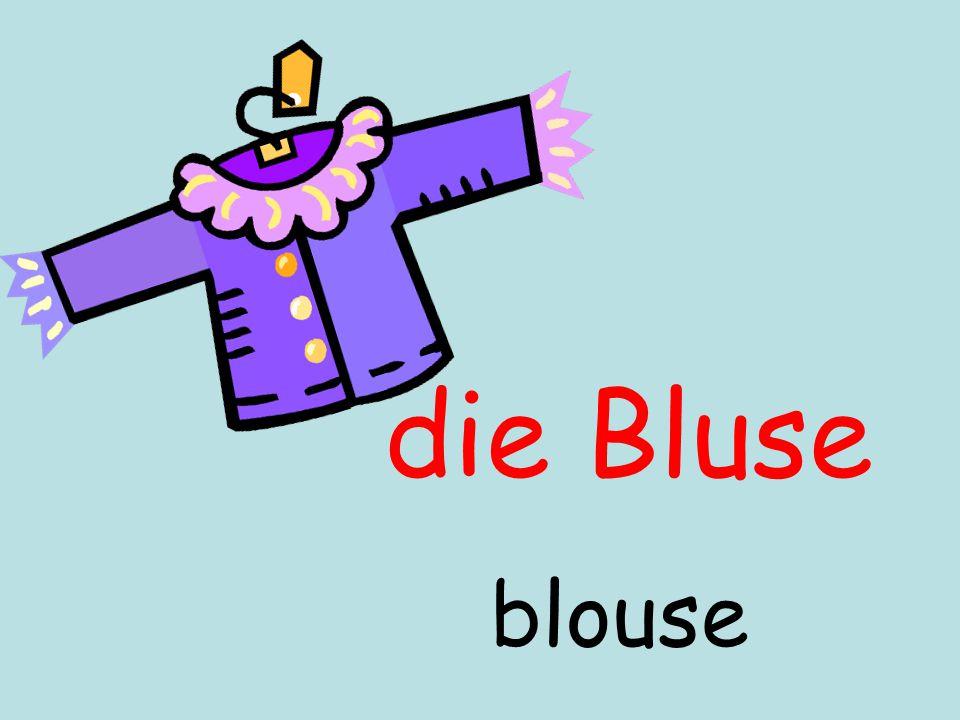 die Bluse blouse