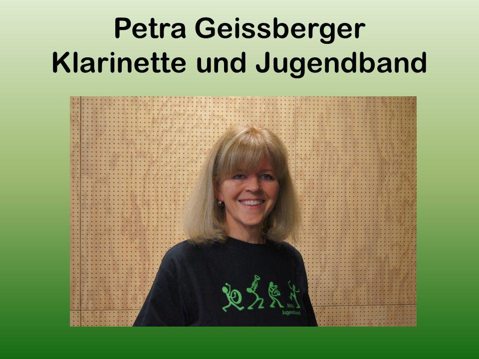 Petra Geissberger Klarinette und Jugendband