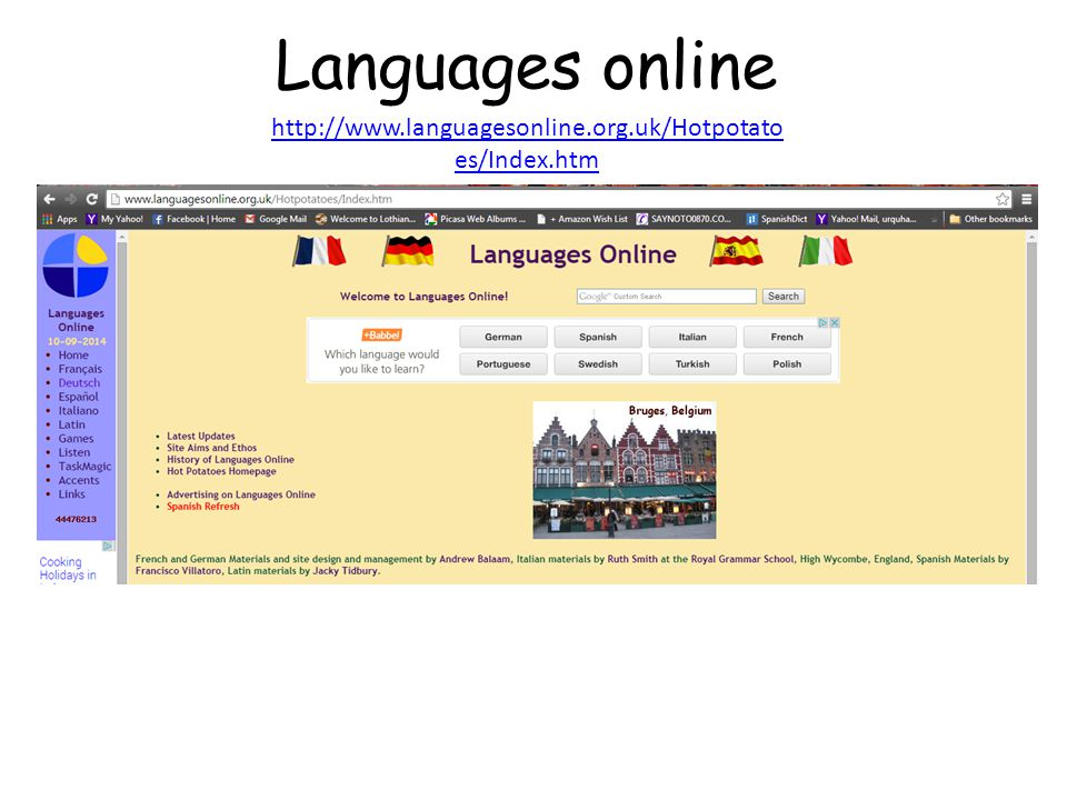 Languages online http://www.languagesonline.org.uk/Hotpotatoes/Index.htm.