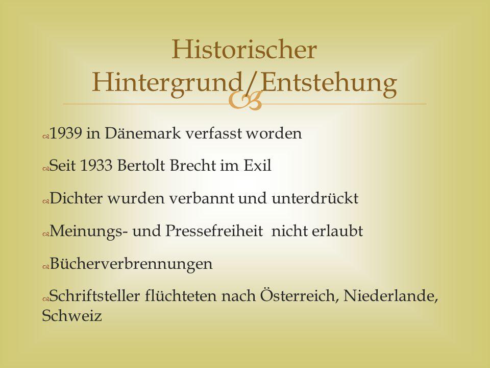 Historischer Hintergrund/Entstehung
