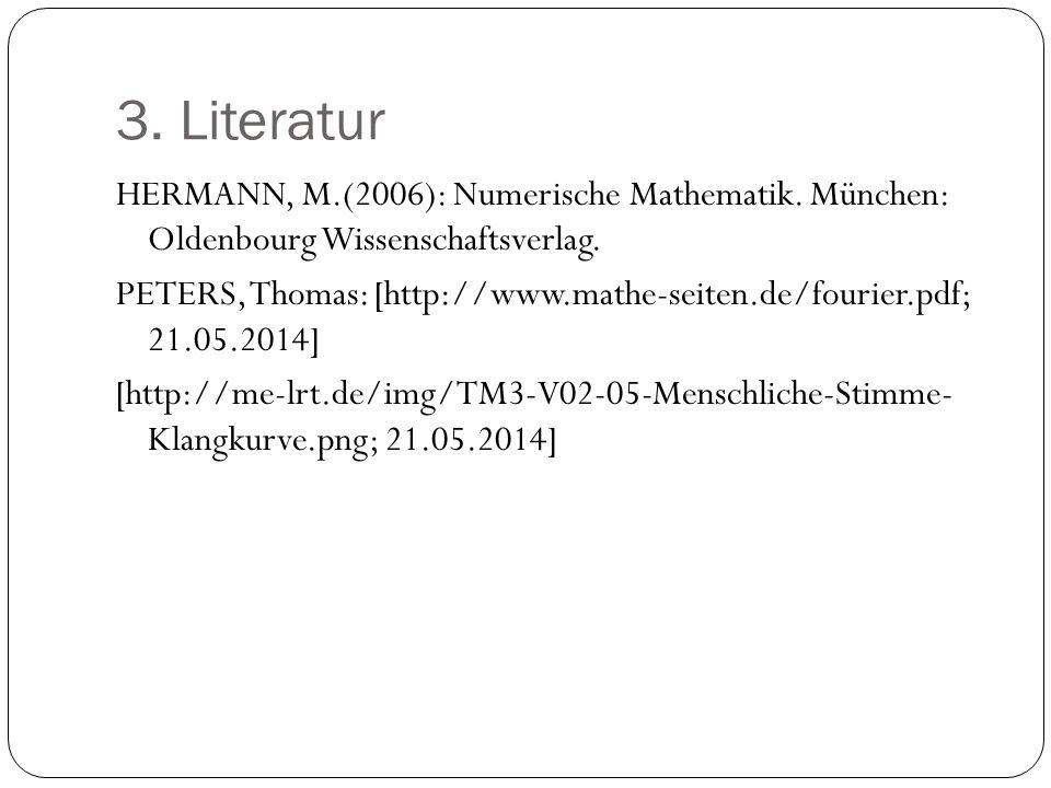 3. Literatur