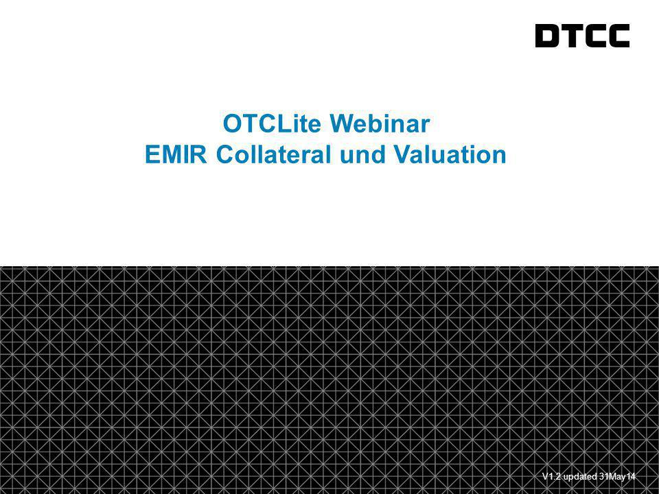 EMIR Collateral und Valuation