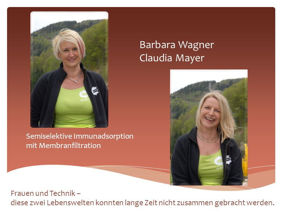 Barbara Wagner Claudia Mayer