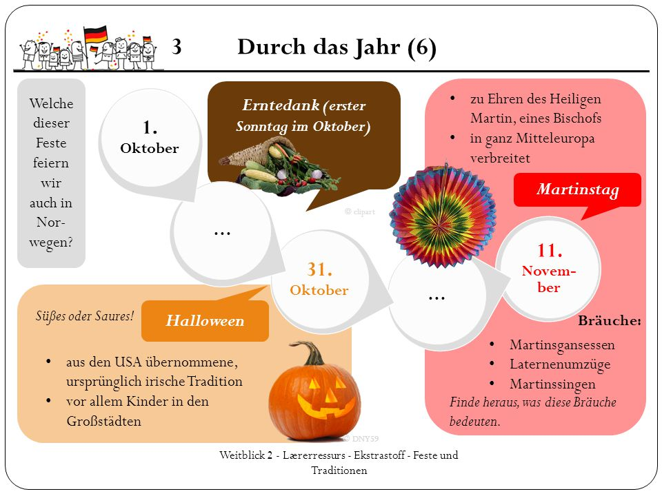 Erntedank (erster Sonntag im Oktober)