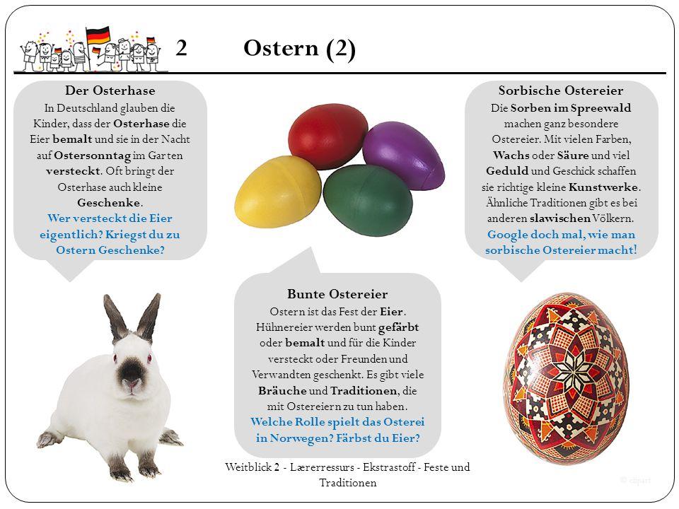 2 Ostern (2) Der Osterhase Sorbische Ostereier Bunte Ostereier