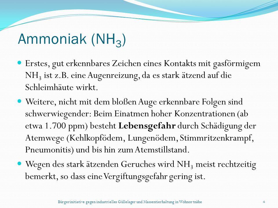 Ammoniak (NH3)