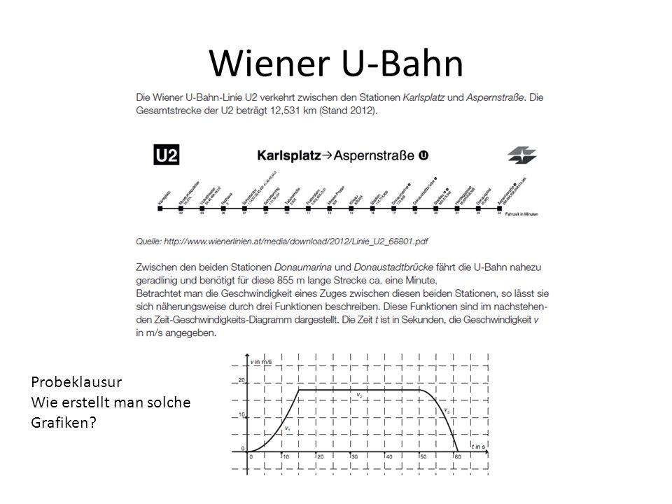 Wiener U-Bahn Probeklausur Wie erstellt man solche Grafiken