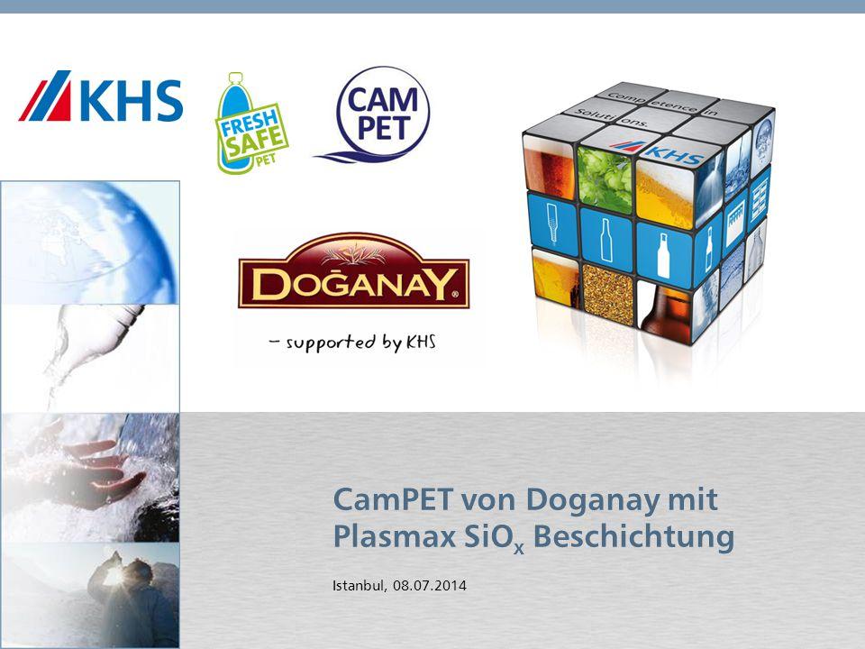 CamPET von Doganay mit Plasmax SiOx Beschichtung