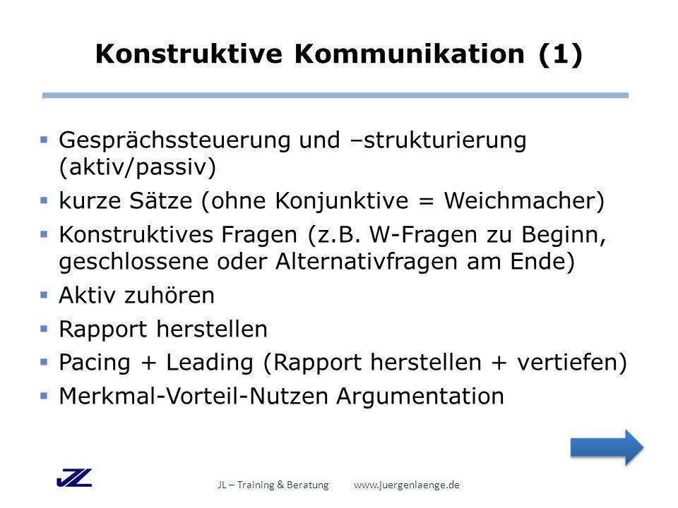 Konstruktive Kommunikation (1)