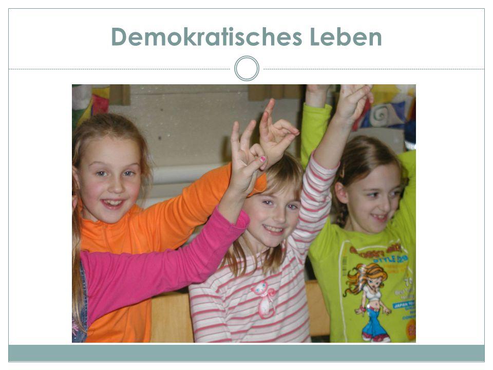 Demokratisches Leben DEMOKRATIE