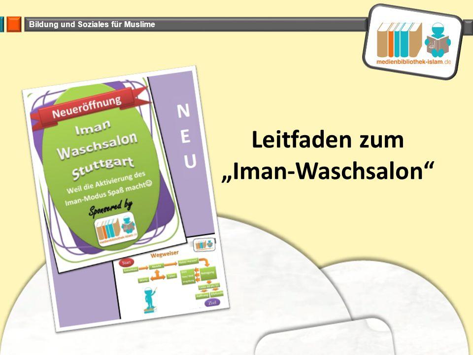 """Leitfaden zum """"Iman-Waschsalon"""
