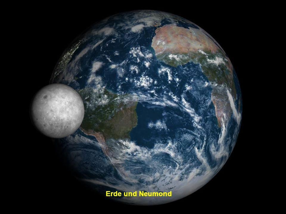 Erde und Neumond