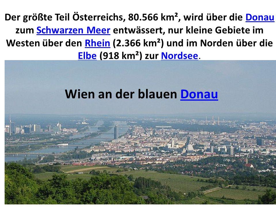Wien an der blauen Donau