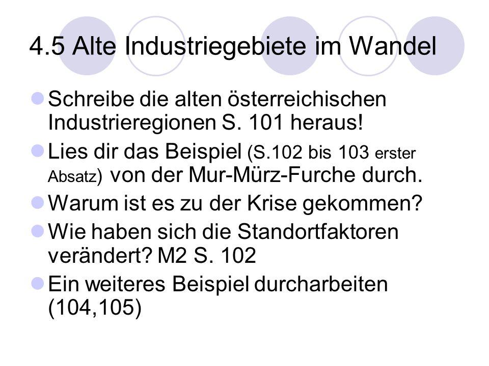 4.5 Alte Industriegebiete im Wandel
