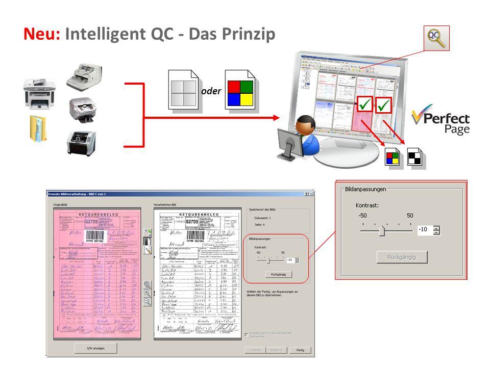 Neu: Intelligent QC - Das Prinzip