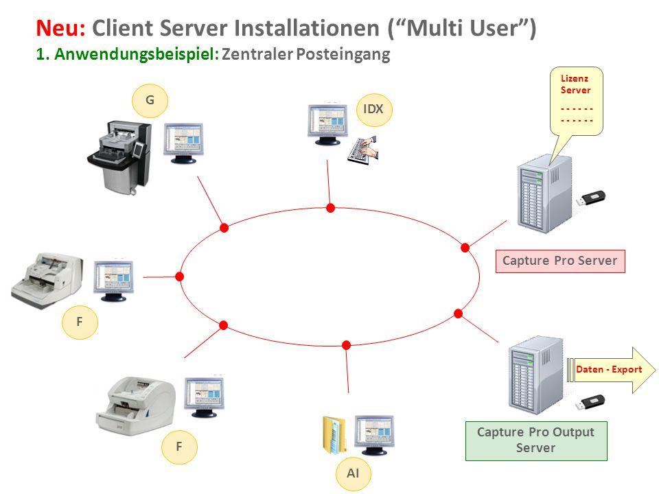 Capture Pro Output Server