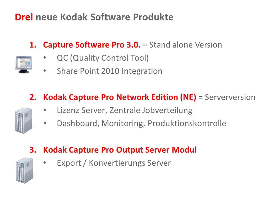 Drei neue Kodak Software Produkte
