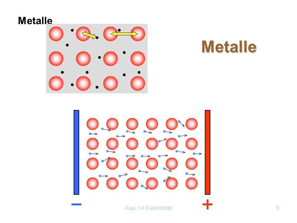 Metalle Metalle Kap.14 Elektrizität