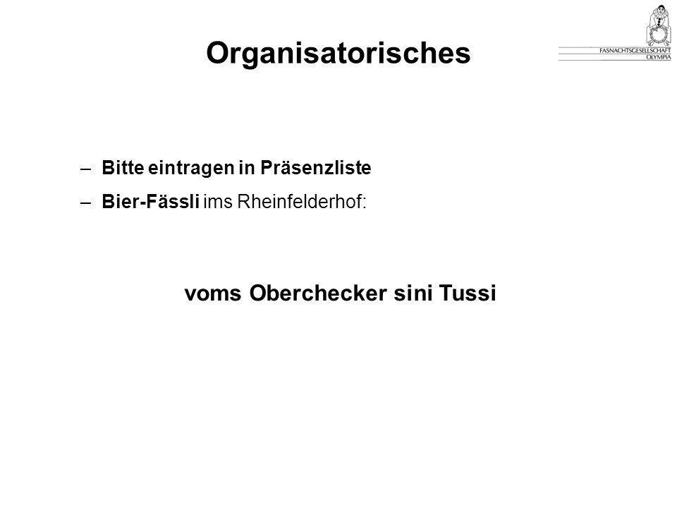 voms Oberchecker sini Tussi