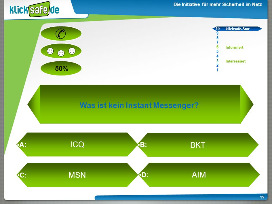 Was ist kein Instant Messenger