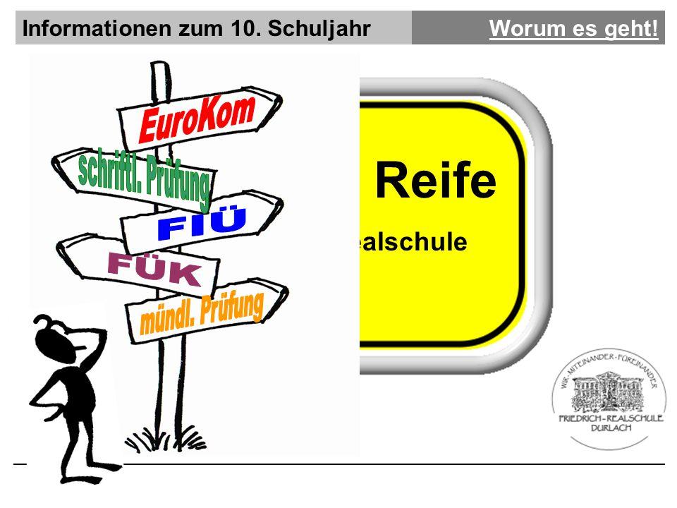 Mittlere Reife EuroKom FIÜ FÜK Friedrich Realschule