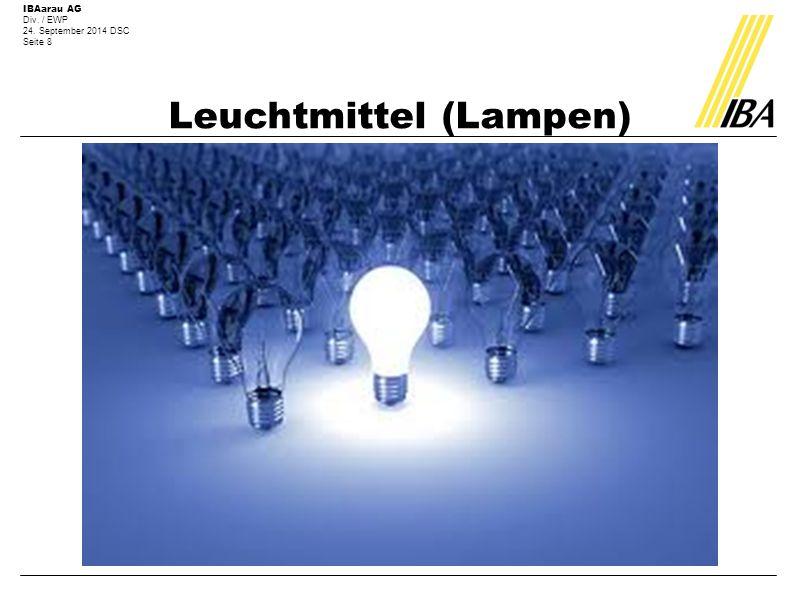 Leuchtmittel (Lampen)