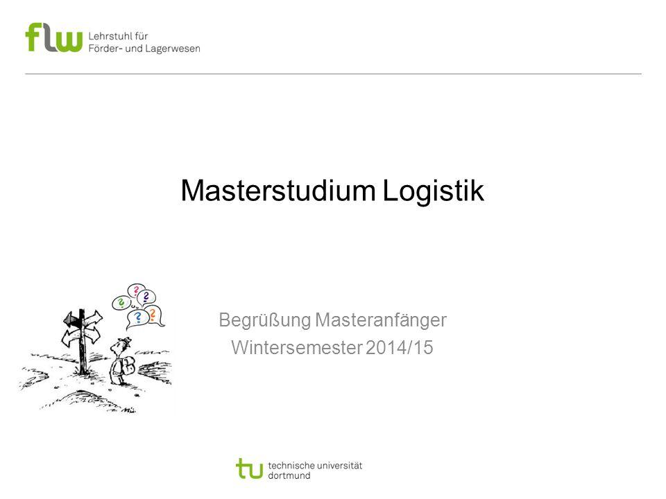 Masterstudium Logistik