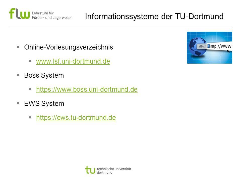 Informationssysteme der TU-Dortmund