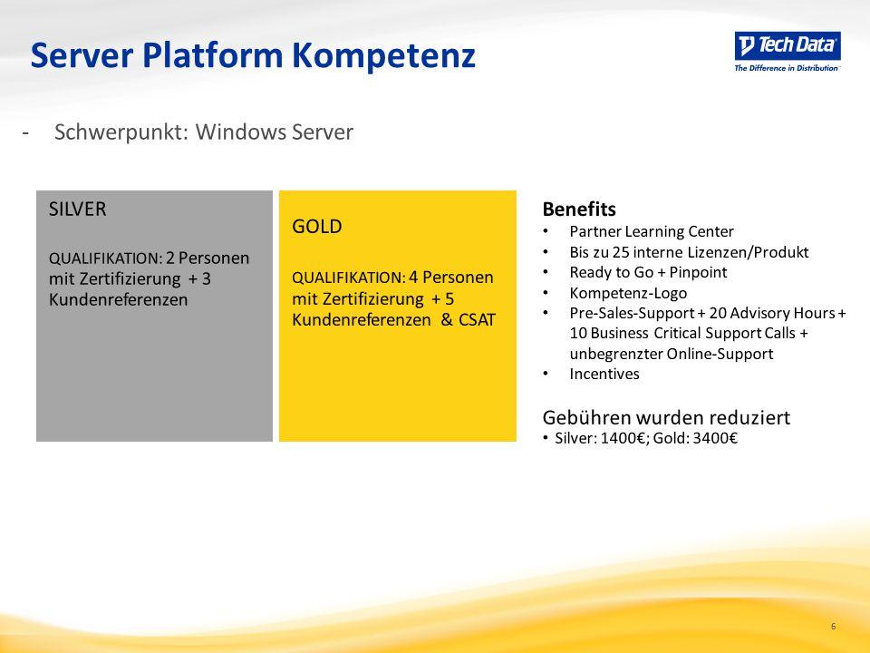 Server Platform Kompetenz