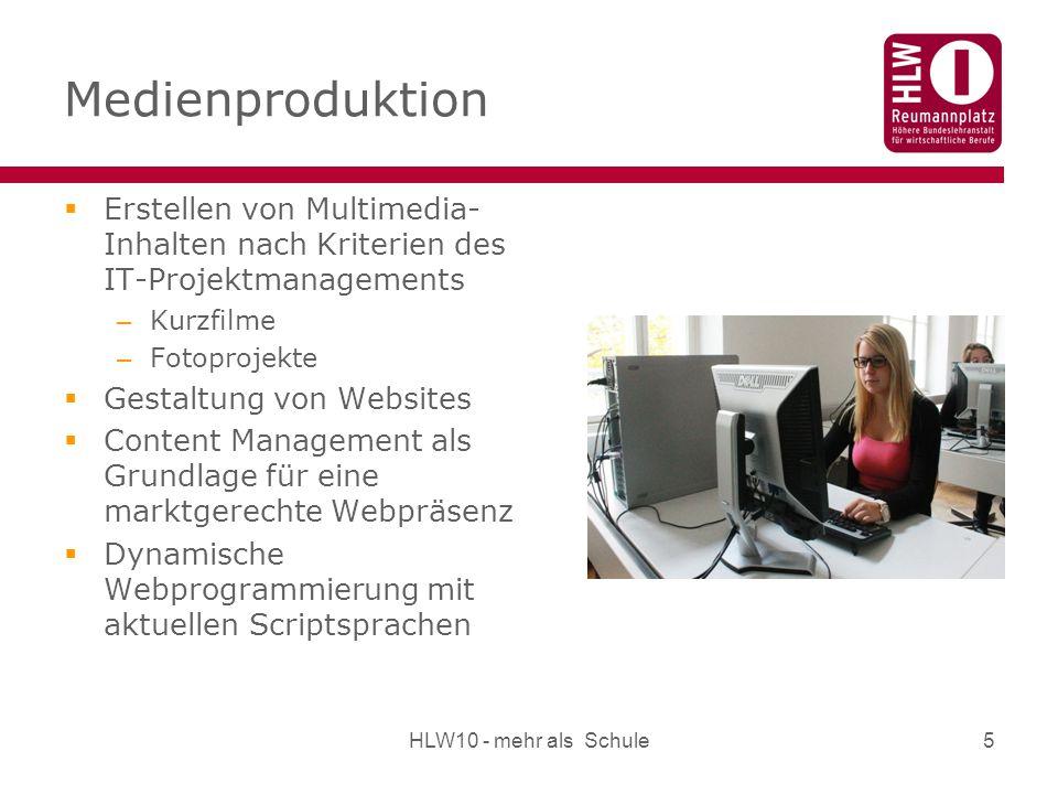 Medienproduktion Erstellen von Multimedia-Inhalten nach Kriterien des IT-Projektmanagements. Kurzfilme.