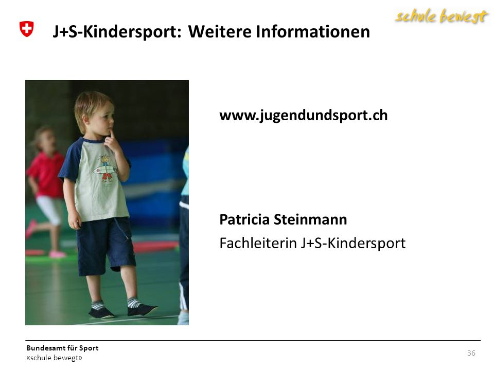 J+S-Kindersport: Weitere Informationen
