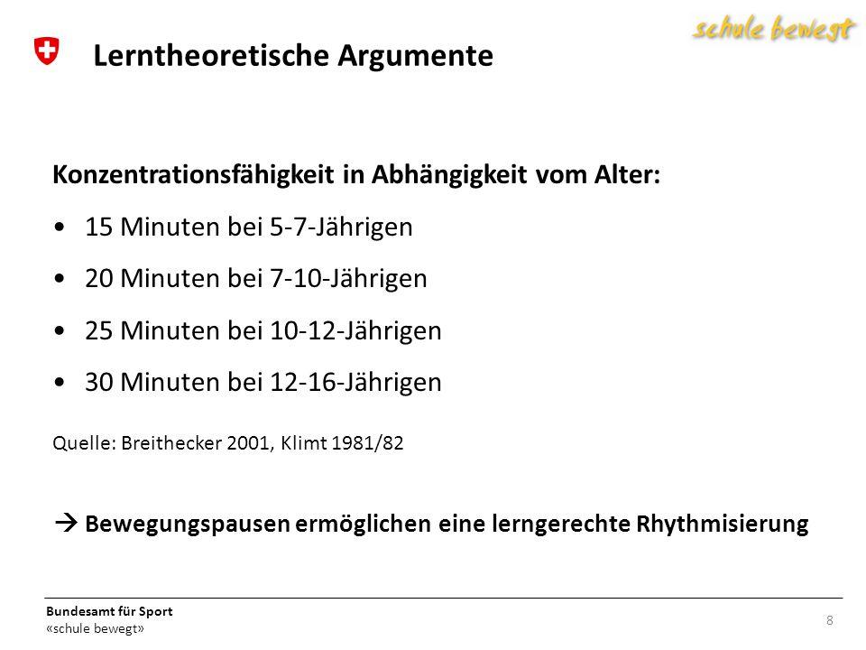 Lerntheoretische Argumente