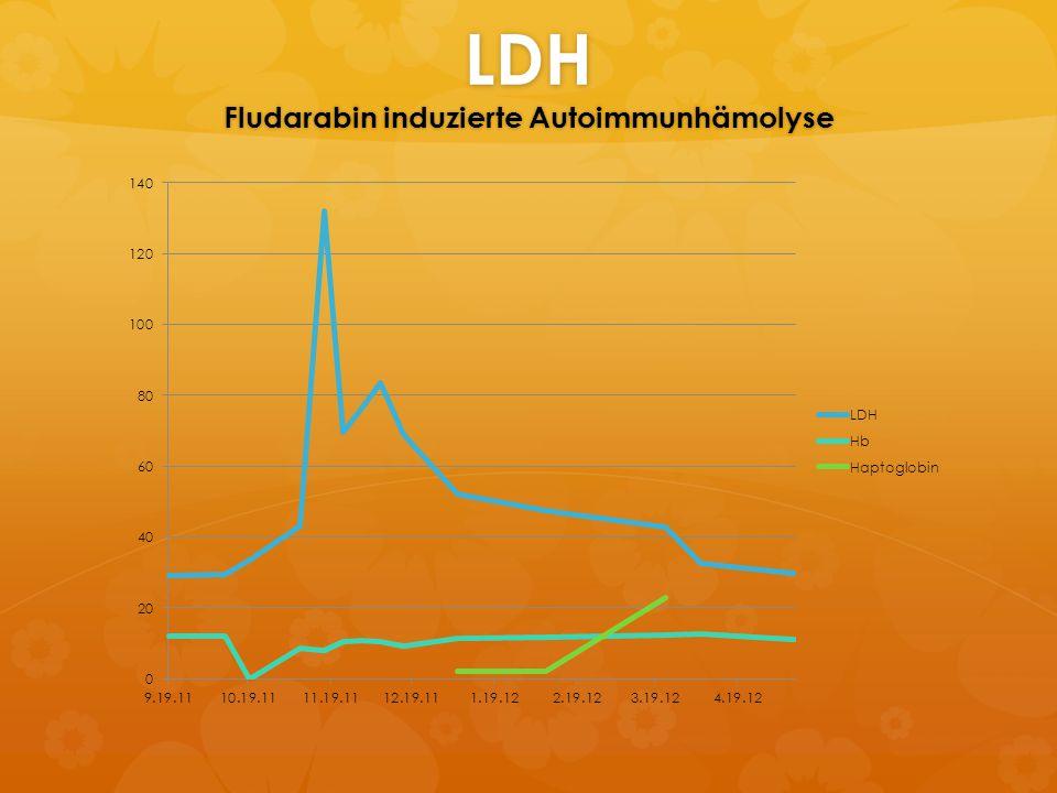 LDH Fludarabin induzierte Autoimmunhämolyse