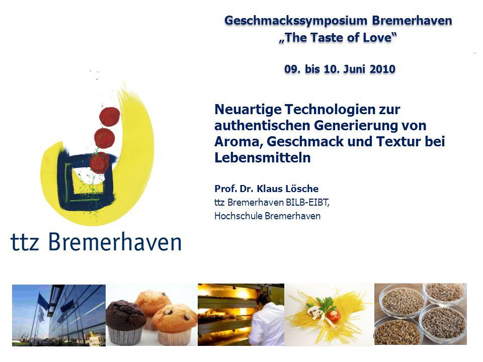 Geschmackssymposium Bremerhaven