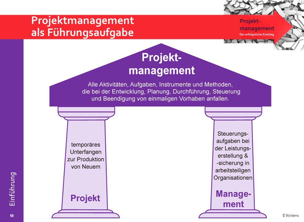 Projektmanagement als Führungsaufgabe