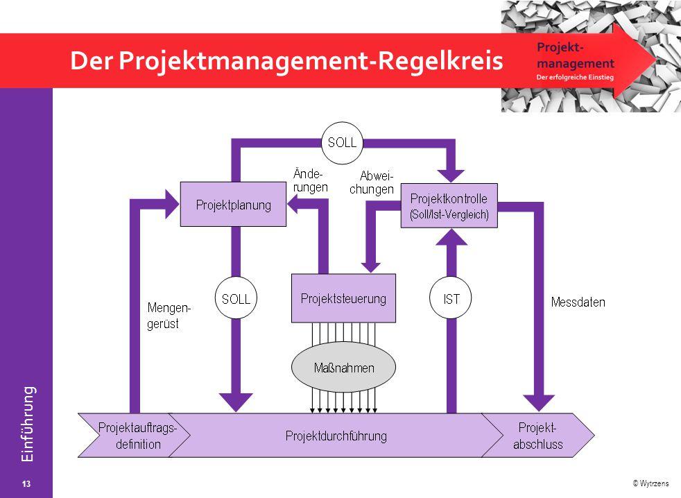 Der Projektmanagement-Regelkreis