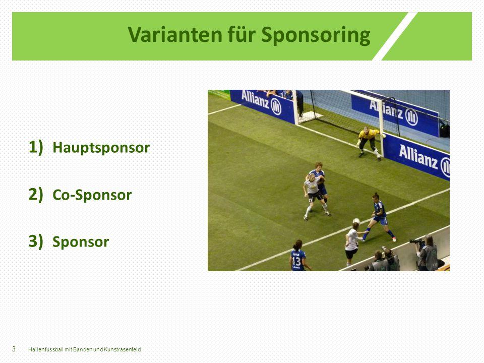 Varianten für Sponsoring