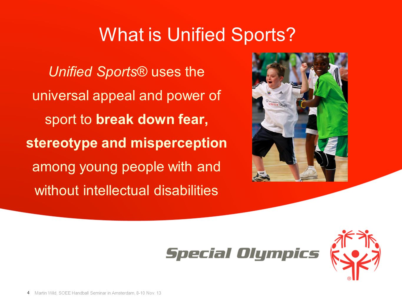 What is Unified Sports