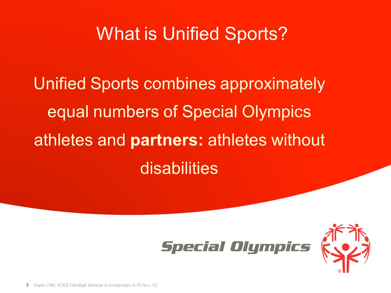 What is Unified Sports.