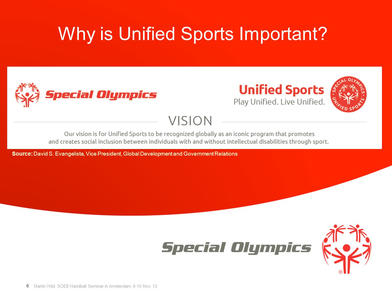 Why is Unified Sports Important