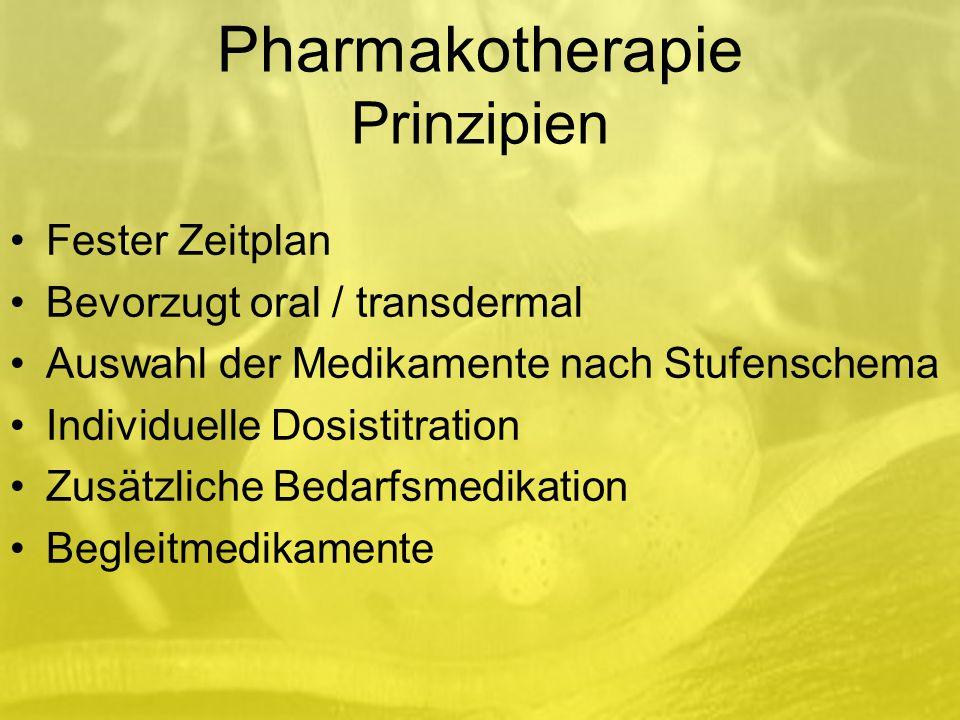 Pharmakotherapie Prinzipien