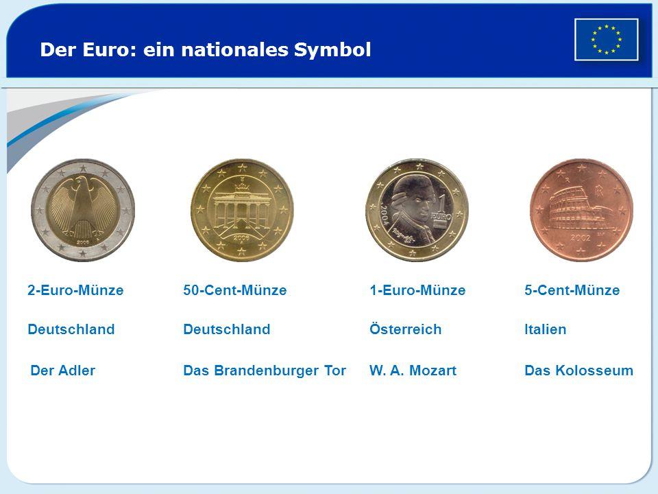Der Euro: ein nationales Symbol